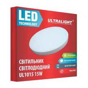 Настенный LED светильник UL 1015 15W
