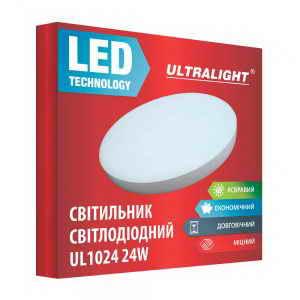 Настенный LED светильник UL 1024 24W
