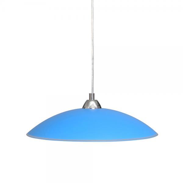 Светильник 'Индиго' 26260, подвес, синий