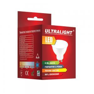 Светодиодная лампа MR16-6W-Y GU10
